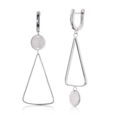 Срібні сережки (S002438)